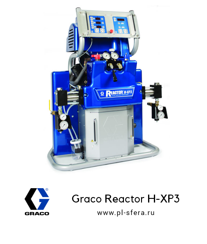 Graco Reactor H-XP3 для полимочевины